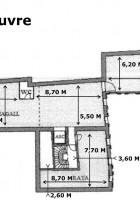 Plan 3ème étage